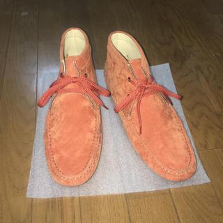 メンズ靴  HVC  新品  デッドストック  〜オレンジカラー〜(その他)