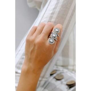 アリシアスタン(ALEXIA STAM)のALEXIASTAM TripleWhite TurquoiseSun Ring(リング(指輪))