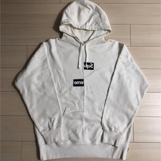 シュプリーム(Supreme)のSupreme Split Box Logo Hooded Sweatshirt(パーカー)