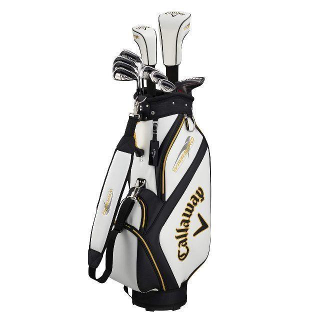 Callaway Golf(キャロウェイゴルフ)のCallaway(キャロウェイ) メンズ用 クラブセット WARBIRD 10本 スポーツ/アウトドアのゴルフ(クラブ)の商品写真