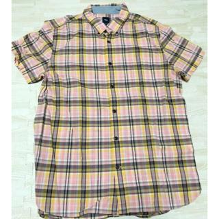 ギャップ(GAP)のGAP 半袖シャツ チェックシャツ(シャツ)