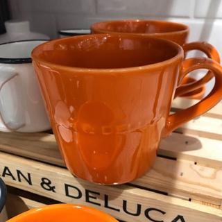 ディーンアンドデルーカ(DEAN & DELUCA)の新品 DEAN&DELUCA2019秋数量限定パンプキンオレンジモーニングマグ (グラス/カップ)