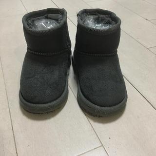 プティマイン(petit main)のプティマイン ムートンブーツ 14cm(ブーツ)