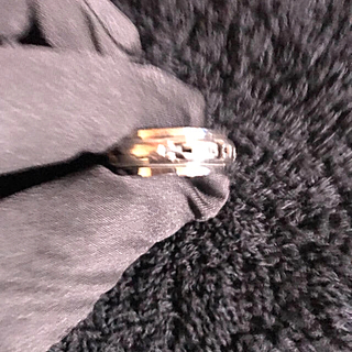 クロスをモチーフの真ん中、回転式指輪(シルバー925製)(リング(指輪))