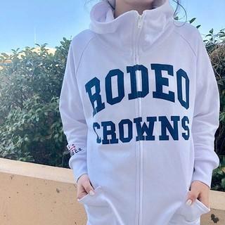ロデオクラウンズワイドボウル(RODEO CROWNS WIDE BOWL)の新品☆RODEO CROWNS☆名古屋ドーム限定ジップパーカー☆ブラック (パーカー)