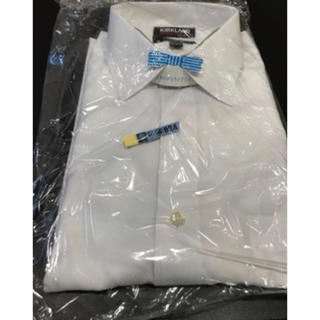コストコ(コストコ)のコストコ ワイシャツ  ドレスシャツ 長袖   KIRKLAND(シャツ)