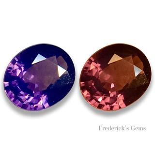 妖しげなふたつの魅力 0.9ct UP 天然 シルキー カラーシフト スピネル(リング(指輪))