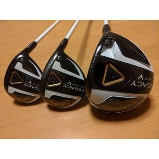 Callaway Golf - ★まとめ買いがお得★CALLAWAY LEGACY BLACK 1.3.5 3本