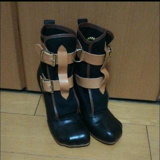 ヴィヴィアンウエストウッド(Vivienne Westwood)の【VivienneWestwood】 パイレーツブーツ 6サイズ 24.5cm(ブーツ)