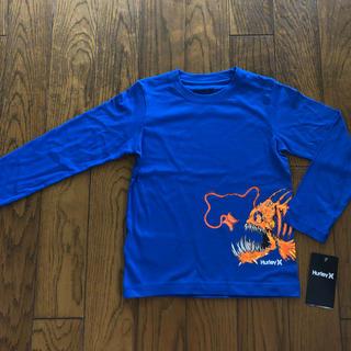 Hurley - Hurley新品ボーイズ用ロングTシャツ 115