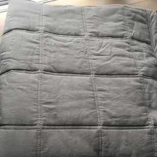 ムジルシリョウヒン(MUJI (無印良品))の綿ななこ織抗菌キルティングラグ(ラグ)