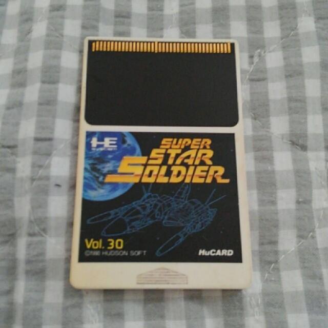 NEC(エヌイーシー)のPCエンジン スーパースターソルジャー エンタメ/ホビーのゲームソフト/ゲーム機本体(家庭用ゲームソフト)の商品写真