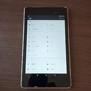 エイスース(ASUS)のNexus7 2013 wifiモデル ジャンク(タブレット)