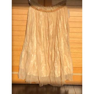 ミスティウーマン(mysty woman)の新品未使用タグ付き ミスティウーマン スカート(ロングスカート)