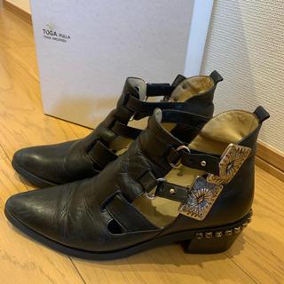 TOGA - TOGA pulla metal buckle boots ショートブーツ