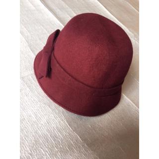 トゥモローランド(TOMORROWLAND)のTOMORROWLAND レディース 帽子(ハット)
