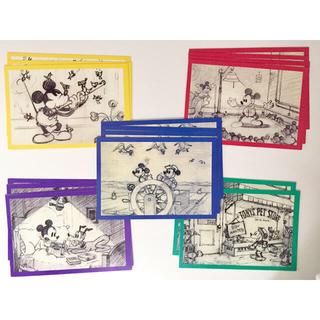 ディズニーギャラリー メッセージカード5種 BOXセット(カード/レター/ラッピング)