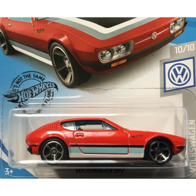 Volkswagen(フォルクスワーゲン)のホットウィール フォルクスワーゲン SP2 VOLKSWAGEN レッド 赤 エンタメ/ホビーのおもちゃ/ぬいぐるみ(ミニカー)の商品写真