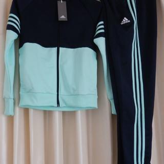 アディダス(adidas)のアディダススウェット上下セット160女児スポーツウエア(ジャケット/上着)