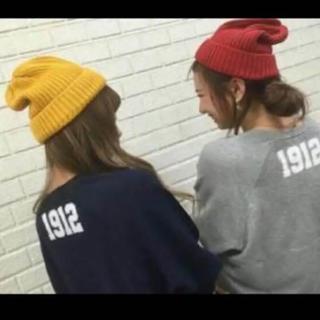 アングリッド(Ungrid)のungrid カラーリブニット帽(ニット帽/ビーニー)