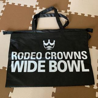 ロデオクラウンズワイドボウル(RODEO CROWNS WIDE BOWL)のロデオクラウンズ ショッパー ショップ袋 大 新品未使用(ショップ袋)