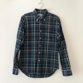 ベーシックなチェックシャツ(シャツ/ブラウス(長袖/七分))