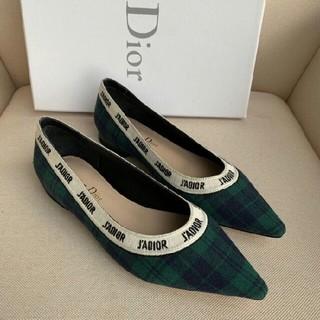 ディオール(Dior)の Dior ストラップパンプス 22-25cm(ハイヒール/パンプス)