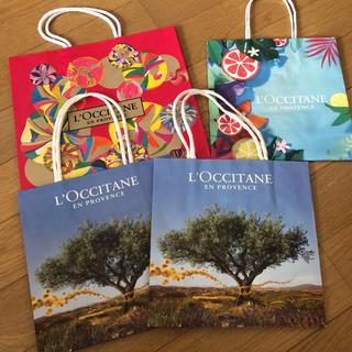 ロクシタン(L'OCCITANE)のロクシタン ショップ袋 紙袋 ショッパー(ショップ袋)