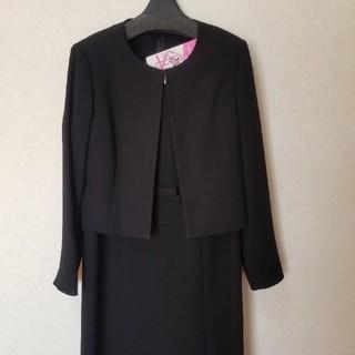 セシール(cecile)のブラックフォーマルアンサンブル(礼服/喪服)