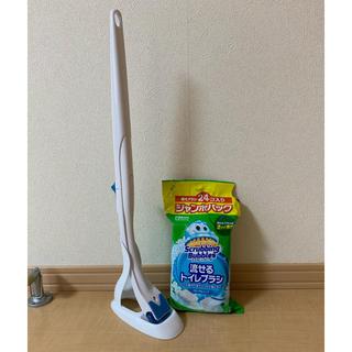 Johnson's - スクラビングバブル 流せるトイレブラシと、トイレ洗剤のセット