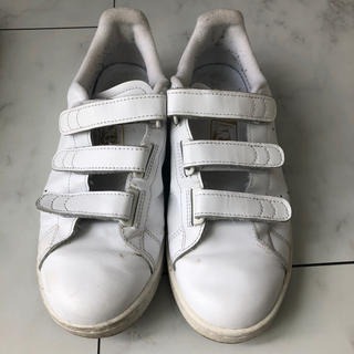アディダス(adidas)の♡送料無料♡アディダス スタンスミス  白×ゴールド 24.5センチ(スニーカー)