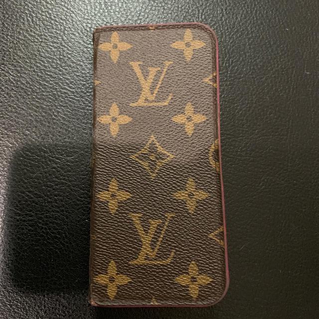 LOUIS VUITTON - ルイヴィトン スマホケース iPhone8の通販