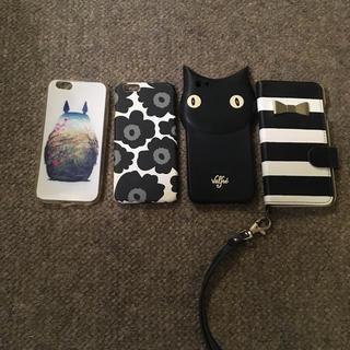マリメッコ(marimekko)のアイフォン6の携帯カバーのセット(iPhoneケース)