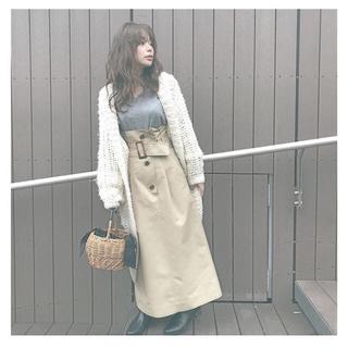 メゾンドリーファー(Maison de Reefur)のETRE TOKYO トレンチスカート(ロングスカート)
