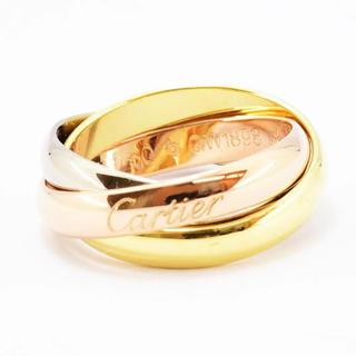 カルティエ(Cartier)のカルティエ リング トリニティ  三連 K18 10号 新品仕上済(リング(指輪))