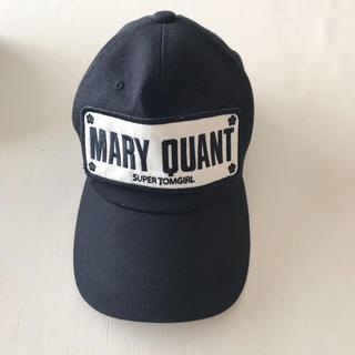 マリークワント(MARY QUANT)のMARY QUANT キャップ(キャップ)