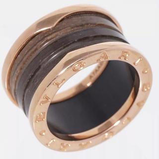 ブルガリ(BVLGARI)のブルガリビーゼロワンリングマーブル 大理石PG#52(リング(指輪))