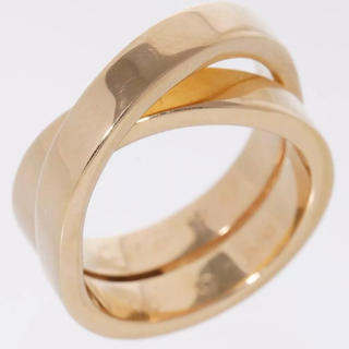 カルティエ(Cartier)のリングカルティエ パリリング 指輪 18金#52(リング(指輪))
