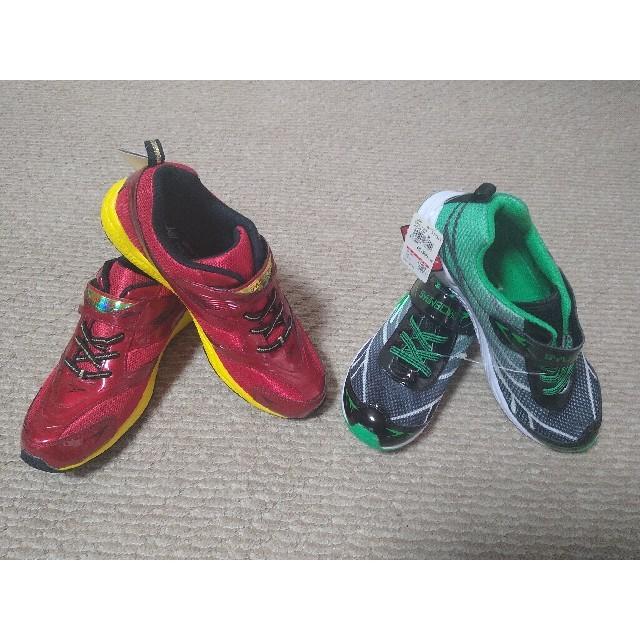 Achilles(アキレス)の瞬足 シュンソク 2足 24.5  25 メンズの靴/シューズ(スニーカー)の商品写真