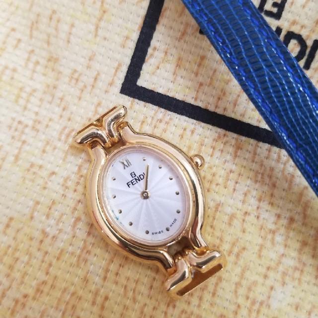 FENDI(フェンディ)のフェンディ 時計 クラシック 美品 レディースのファッション小物(腕時計)の商品写真