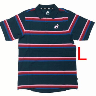 ナイキ(NIKE)のNIKE SB Parra ポロシャツ Lサイズ(ポロシャツ)