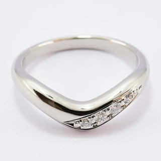 ミキモト(MIKIMOTO)のミキモト  リング ダイヤ  0.04ct 約6号  PT950  新品仕上済(リング(指輪))