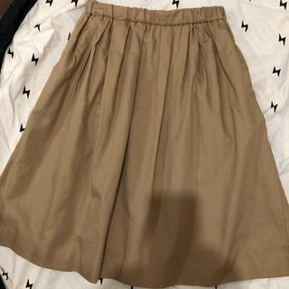 ニジュウサンク(23区)の23区 小さいサイズ ポケット付スカート(ひざ丈スカート)