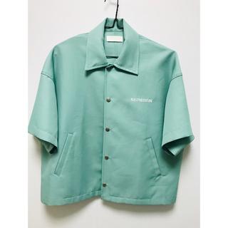アンユーズド(UNUSED)のneon sign half-sleeves coach jacket (ブルゾン)