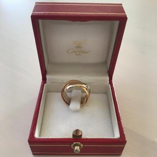 カルティエ(Cartier)のカルティエリング◆トリニィティ3連リング(リング(指輪))