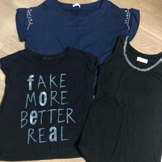 ジーナシス(JEANASIS)のTシャツ&ノースリーブ3点セット(Tシャツ/カットソー)
