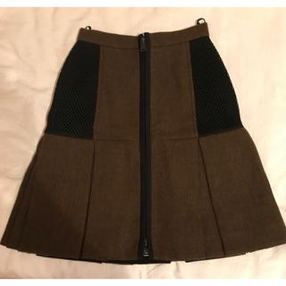 フェンディ(FENDI)のFENDI ウールスカート(ひざ丈スカート)