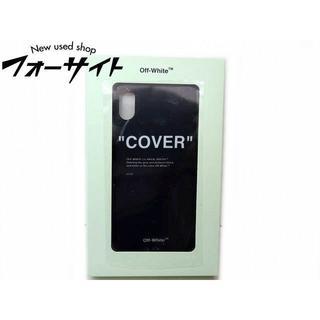"""オフホワイト(OFF-WHITE)のオフホワイト■QUOTE """"COVER"""" iPhone X 対応 スマホケース(iPhoneケース)"""