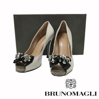 ブルーノマリ(BRUNOMAGLI)のBRUNO MAGLI パンプス シルバーA-473(ハイヒール/パンプス)