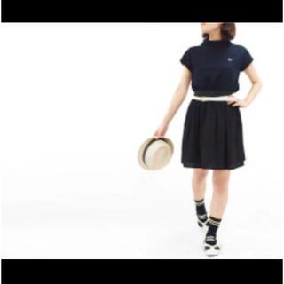 フレッドペリー(FRED PERRY)のsale【FRED PERRY】ギャザースカート ※クリーニング済(ひざ丈スカート)